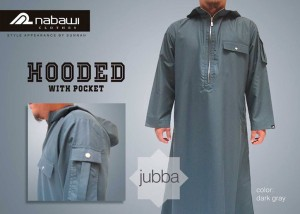 ikhwan-store-jubah-pria-hooded-with-pocket-dark-gray