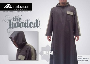 ikhwan store-jubah-the-hooded-coklat-gelap