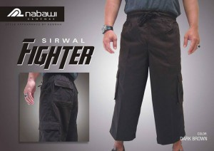 ikhwan-store-celana-ikhwan-sirwal-fighter-dark-brown